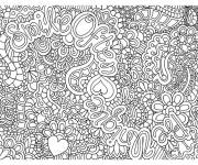 Coloring pages Relaxing adult