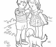 Coloring pages Relaxing Garden