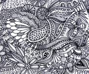 Coloring pages Relaxing Landscape for Older Adults