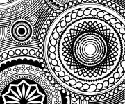 Coloring pages Relaxing maternal