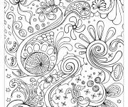 Coloring pages Relaxing Painting