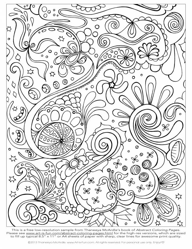 Free coloring and drawings Relaxing Painting Coloring page