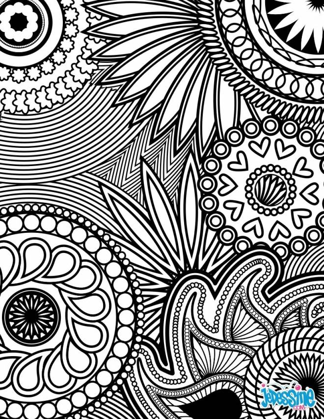 Free coloring and drawings Relaxing therapy Coloring page