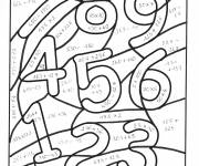 Coloring pages Magic Math Equations