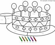 Coloring pages Magic Subtraction up to Ten