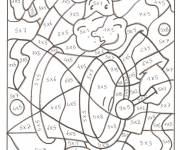 Coloring pages Magical color subtraction