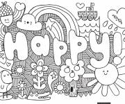 Coloring pages Art Tag Love