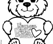 Coloring pages I love you so much