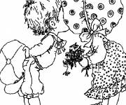 Coloring pages Sarah Kay online
