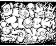 Coloring pages Tag Love Graffiti
