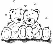 Coloring pages Tenderness of fluff