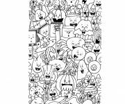 Free coloring and drawings Inspiration Zen Coloring page
