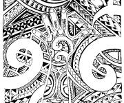 Coloring pages Tattoo online