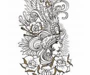 Coloring pages Tattoos For Guys