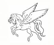 Coloring pages Unicorn Tattoos