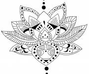 Coloring pages Zen inspiration vector