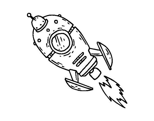 Free coloring and drawings A Rifle on a mission Coloring page