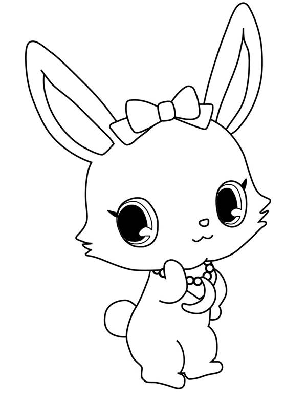 Free coloring and drawings Kilari Jewelpet in color Coloring page