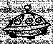 Coloring pages Miniature UFOs