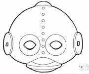 Coloring pages Stylized UFOs