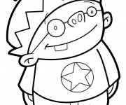 Coloring pages The Little Vector Discoverer