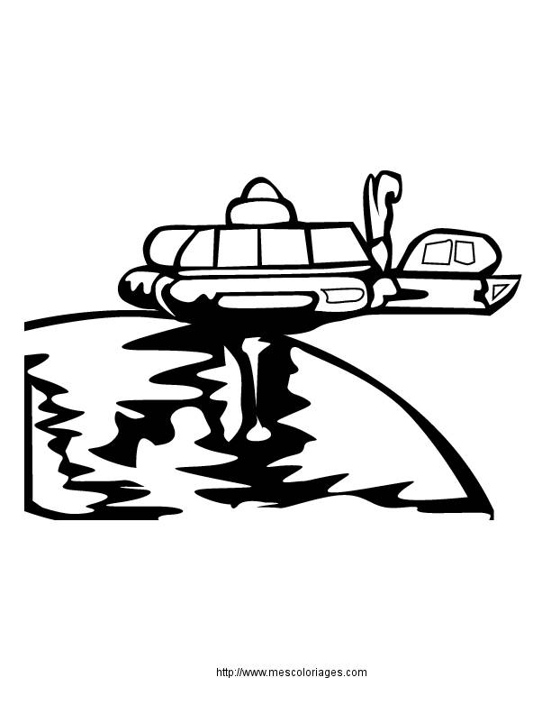 Free coloring and drawings UFOs to decorate Coloring page