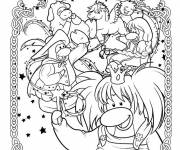 Coloring pages Club Penguin to relax