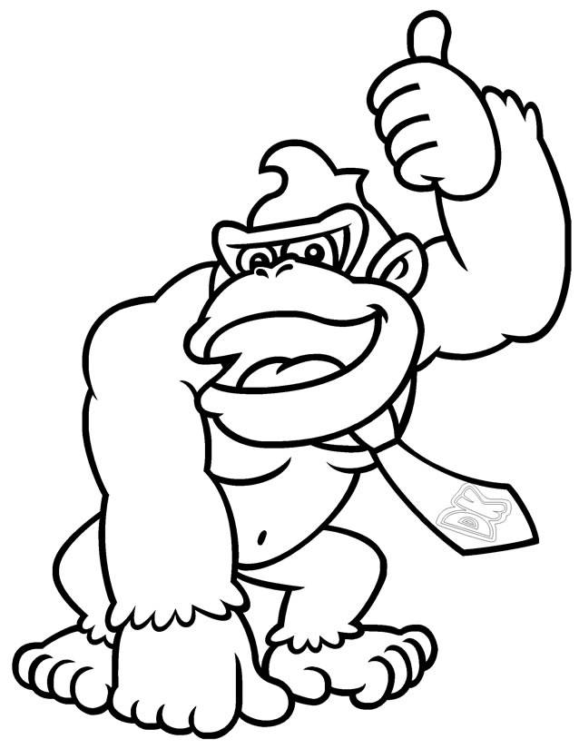 Free coloring and drawings Electronic games Coloring page