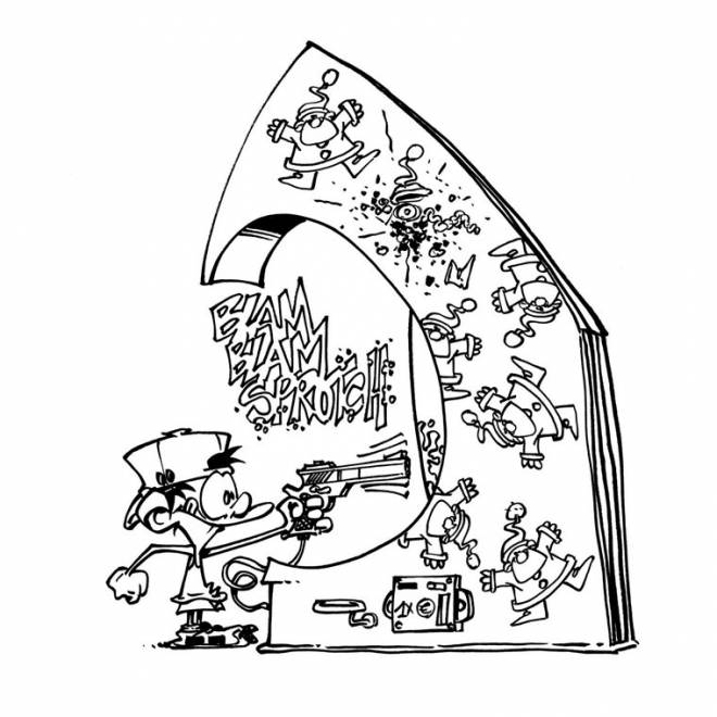 Free coloring and drawings Funny video games Coloring page