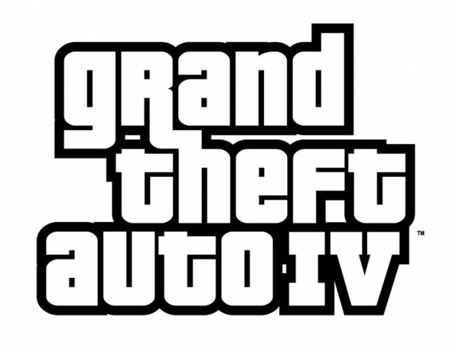 Free coloring and drawings Grand Theft Auto Logo Coloring page
