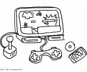 Free coloring and drawings Nintendo Video Games Coloring page