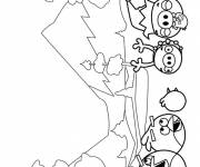 Coloring pages online video games