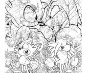 Coloring pages Sonic Boom video games