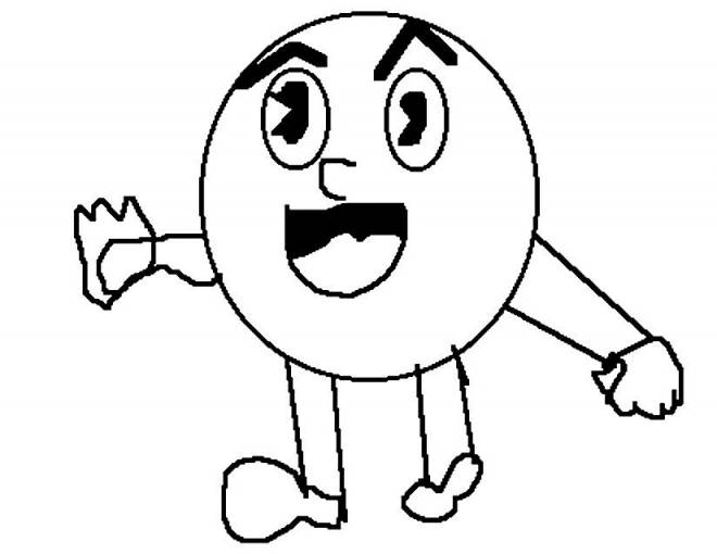 Free coloring and drawings stylized video games Coloring page