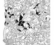 Coloring pages Video Game Characters