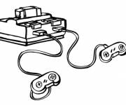 Coloring pages Video games console