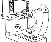 Free coloring and drawings Video Games for children Coloring page