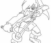 Coloring pages video games Magic character