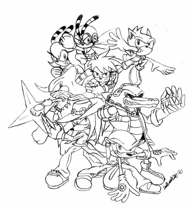 Free coloring and drawings video games Poster Coloring page
