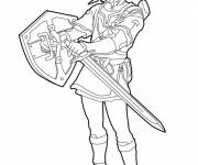 Coloring pages video games Zelda