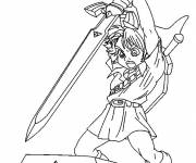 Coloring pages Zelda Character Games