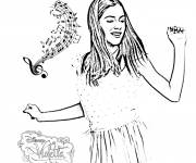 Coloring pages Disney Dance and Music