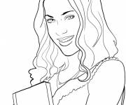 Coloring pages Easy Violetta