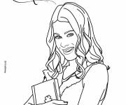 Coloring pages Violetta Disney