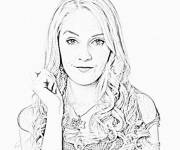Coloring pages Violetta online