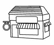 Coloring pages An Easy Store