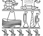 Coloring pages Boys' Toy Store