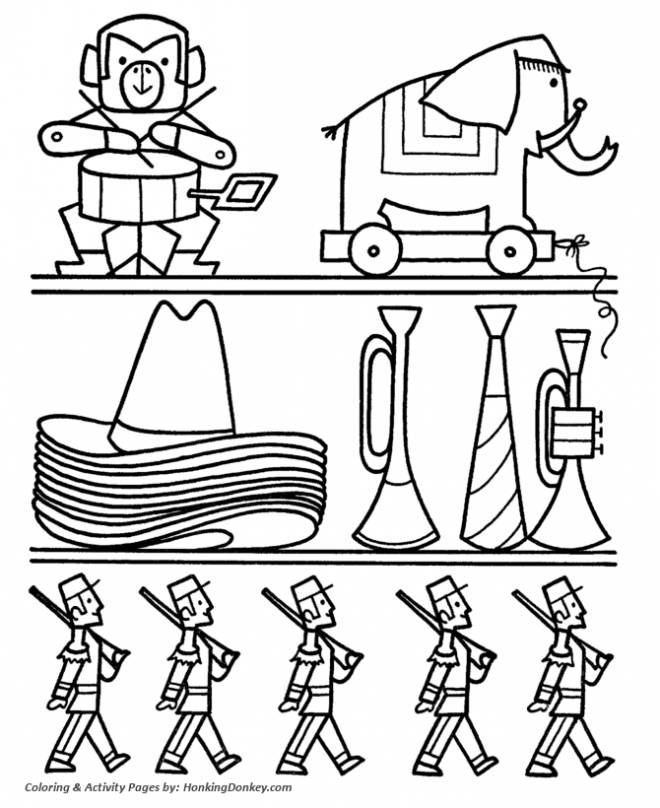 Free coloring and drawings Boys' Toy Store Coloring page