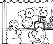 Free coloring and drawings Color Toy Store Coloring page