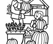 Coloring pages Greengrocery